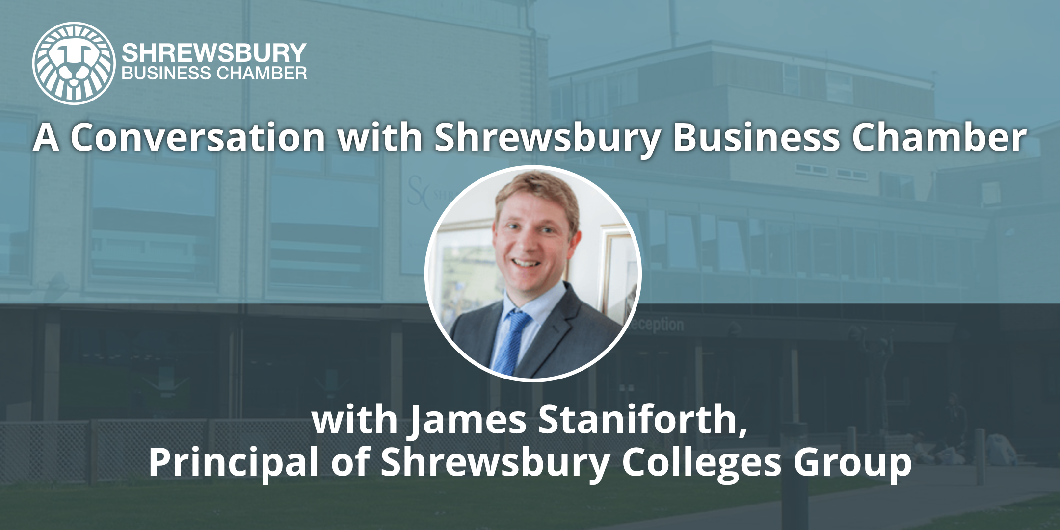 Read more about the article Shrewsbury Colleges Group Principal proud of virtual learning success.