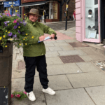 SBC Vice Chair pounds the streets judging the Flower Show Shop Windows Competiton