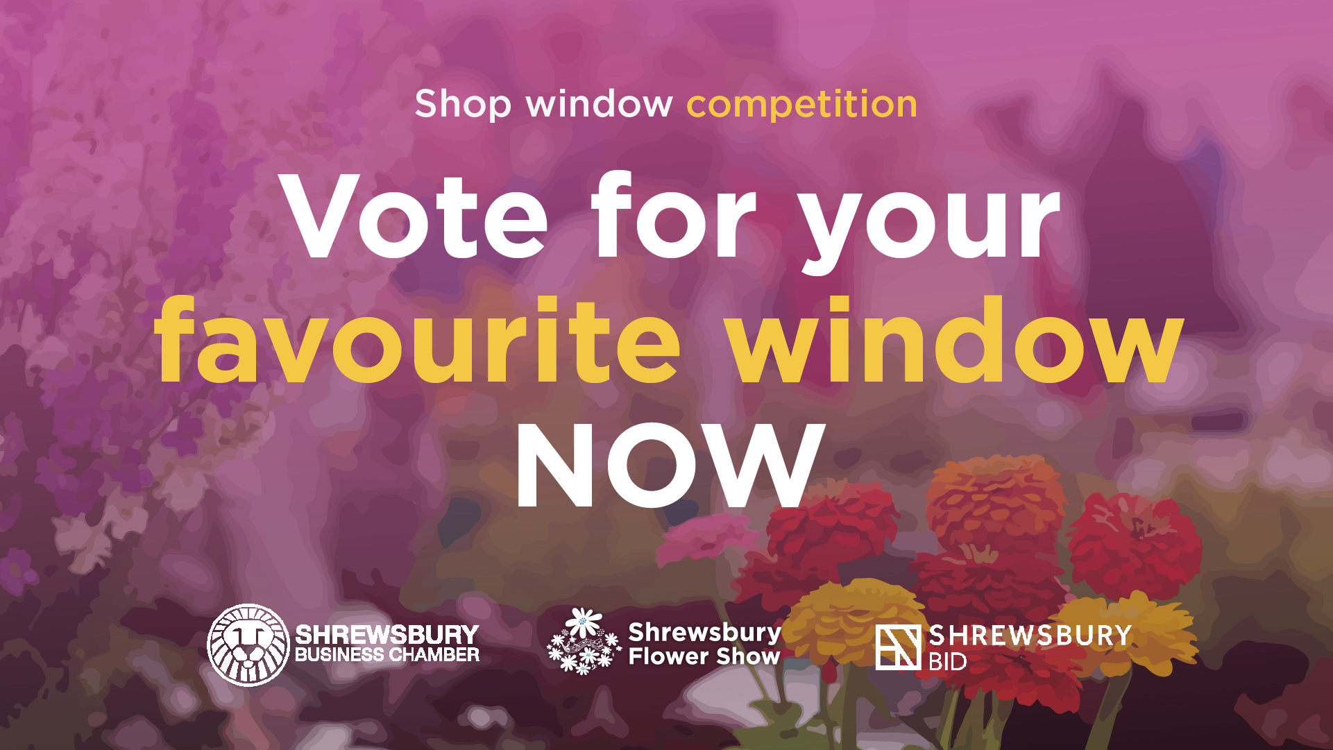Read more about the article Shrewsbury Shop Window Competition – Vote for your Favourite!